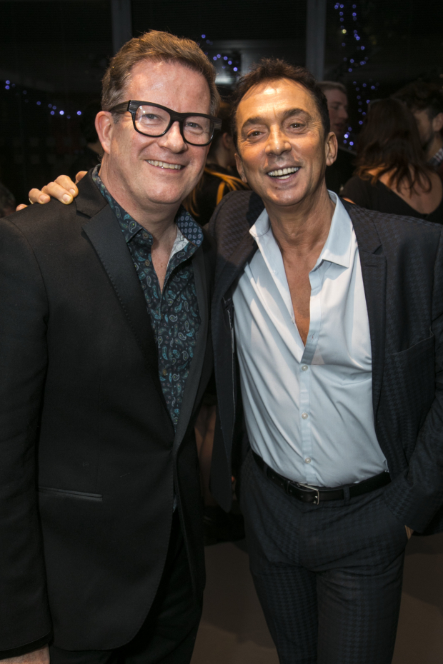 <p>Matthew Bourne and Bruno Tonioli</p><br />© Dan Wooller for WhatsOnStage