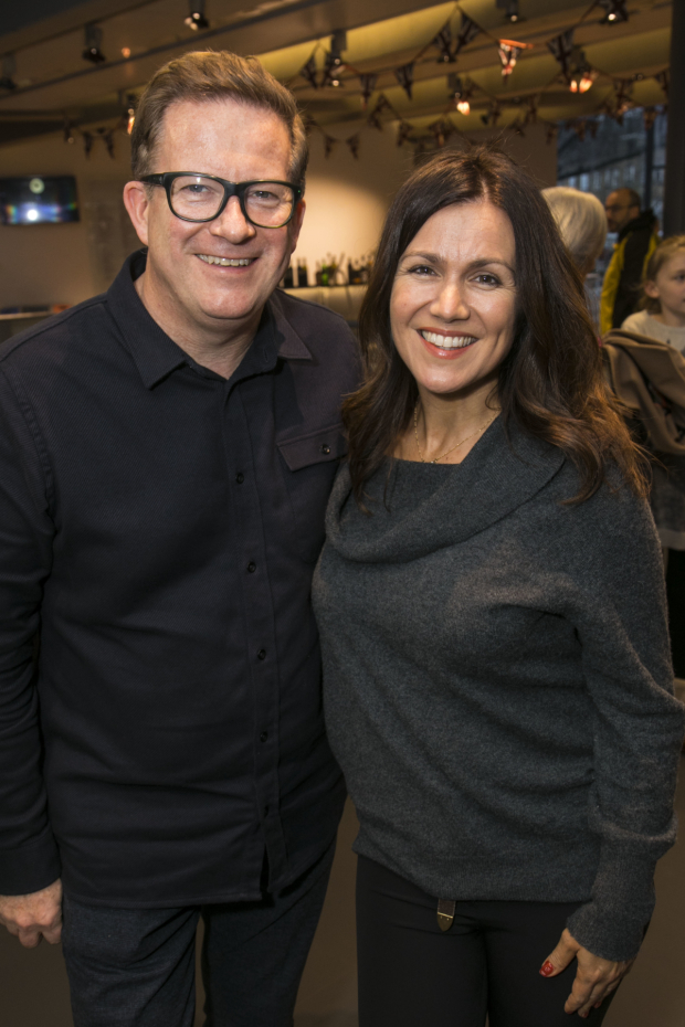 <p>Matthew Bourne and Susanna Reid</p><br />© Dan Wooller for WhatsOnStage
