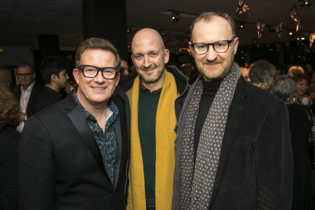 <p>Matthew Bourne, Michael Dennis and Mark Gatiss</p><br />© Dan Wooller