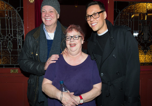 <p>Matthew Kelly, Jo Brand and Gok Wan</p><br />© Craig Sugden