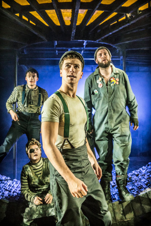 <p>Matthew Seadon-Young, Julie Jupp, Richard Fleeshman and Jeff Nicholson</p><br />© Johan Persson