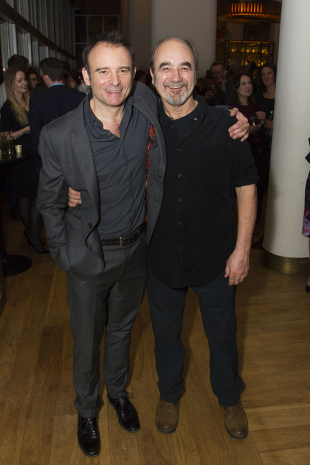 <p>Matthew Warchus (artistic director) and David Haig (The Player)</p><br />© Dan Wooller for WhatsOnStage