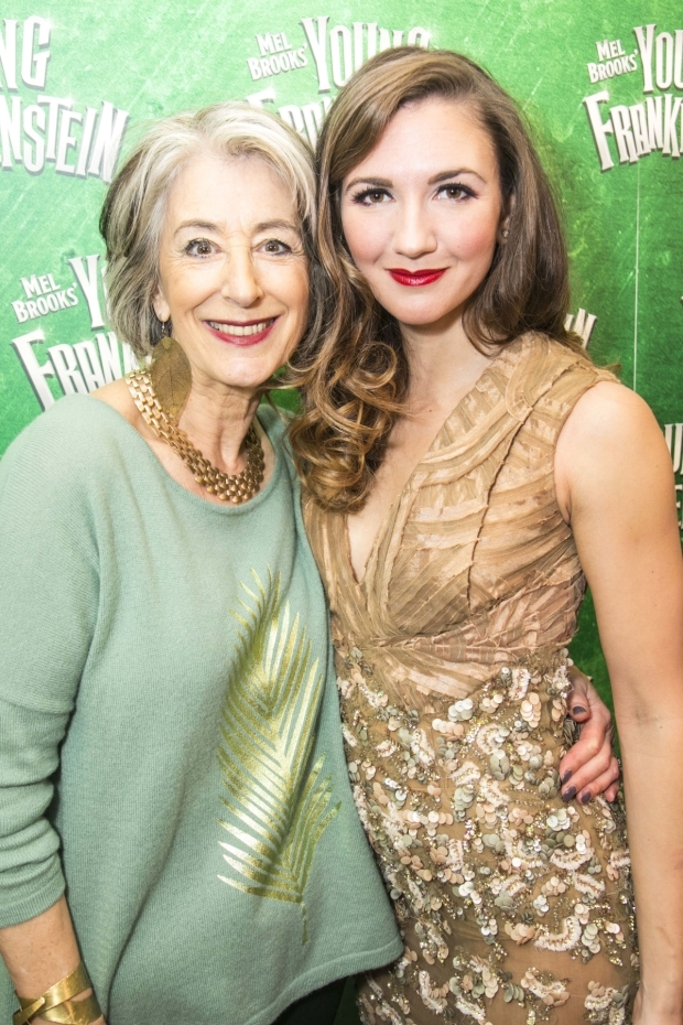 <p>Maureen Lipman and Summer Strallen (Inga)</p><br />© Dan Wooller for WhatsOnStage