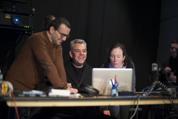 <p>Max Casella and Danny Huston</p><br />© Sarah Ainslie