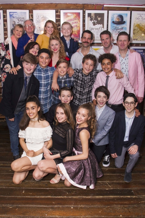 <p>Members of the cast of <em>Adrian Mole</em></p><br />©Dan Wooller for WhatsOnStage