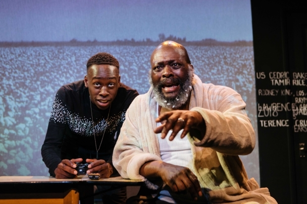 <p>Michael Ajao and Trevour A Toussaint</p><br />© Helen Murray