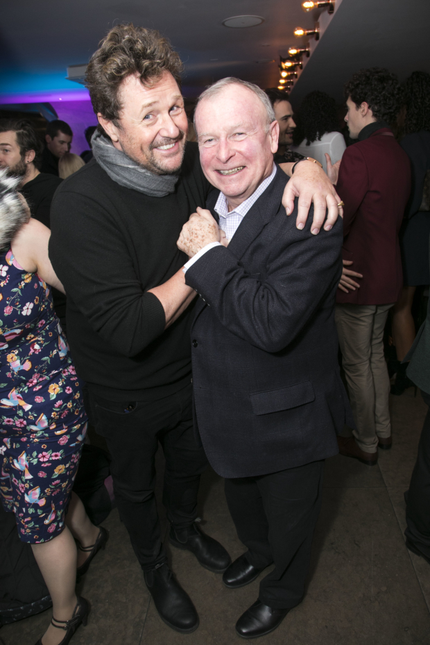 <p>Michael Ball and Ian Talbot (director) </p><br />© Dan Wooller