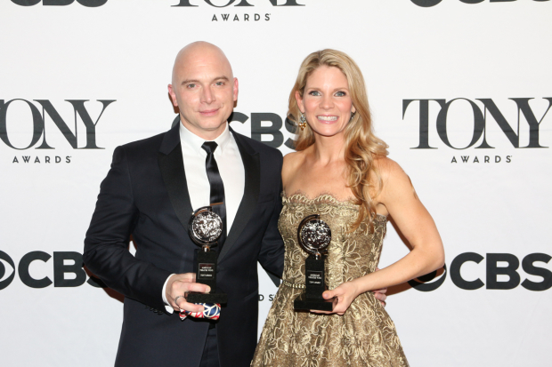 <p>Michael Cerveris and Kelli O&#39&#x3B;Hara (Lead actor/actress in a musical)</p><br />David Gordon