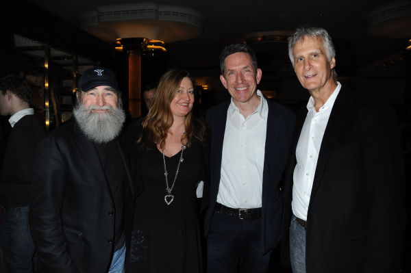<p>Michael David (producer), Jill Green (casting UK), Richard Hester (production supervision) and Ed Strong (producer)</p><br />© Alan Davidson