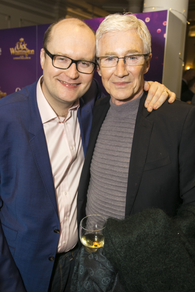 <p>Michael Harrison (director) and Paul O&#39&#x3B;Grady</p><br />© Dan Wooller