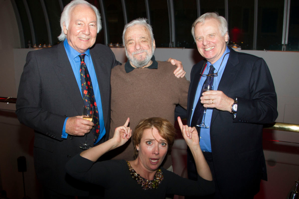 <p>Michael Linnet, Stephen Sondheim, Emma Thompson and Michael Grade</p><br />Dan Wooller