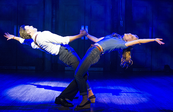 <p>Michael Xavier and Joanna Riding in <em>The Pajama Game</em></p><br />© Tristram Kenton