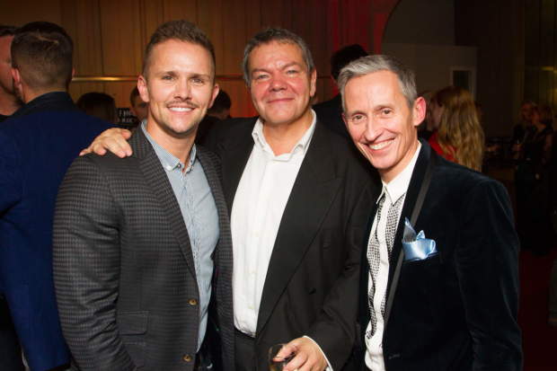 <p>Morgan Large, Anthony Drewe and George Stiles</p><br />© Dan Wooller for WhatsOnStage