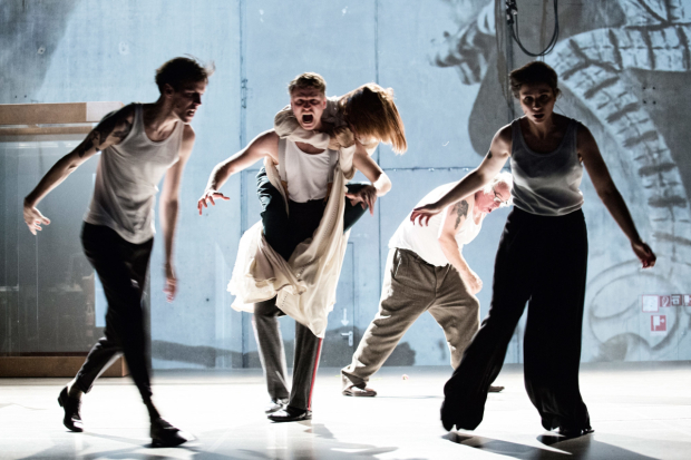 <p>Moritz Gottwald, Laurenz Lauffenberg, Marie Burchard, Johannes Flaschberger and Eva Meckbach in <em>Beware of Pity</em></p><br />© Gianmarco Bresadola