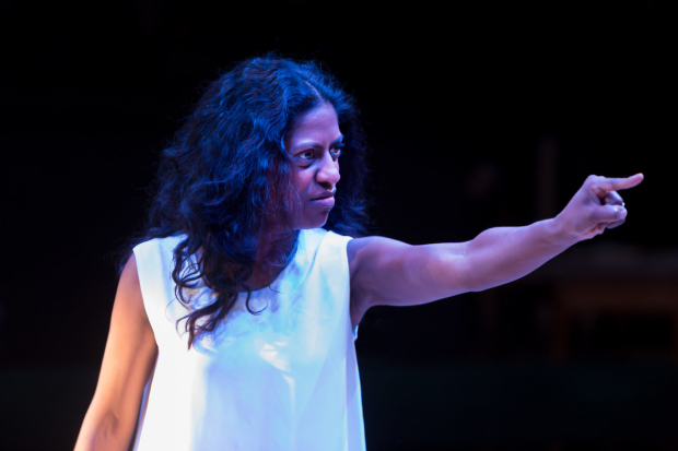 <p>Nadia Nadarajah in <em>The House of Bernarda Alba</em></p><br />©Jonathan Keenan
