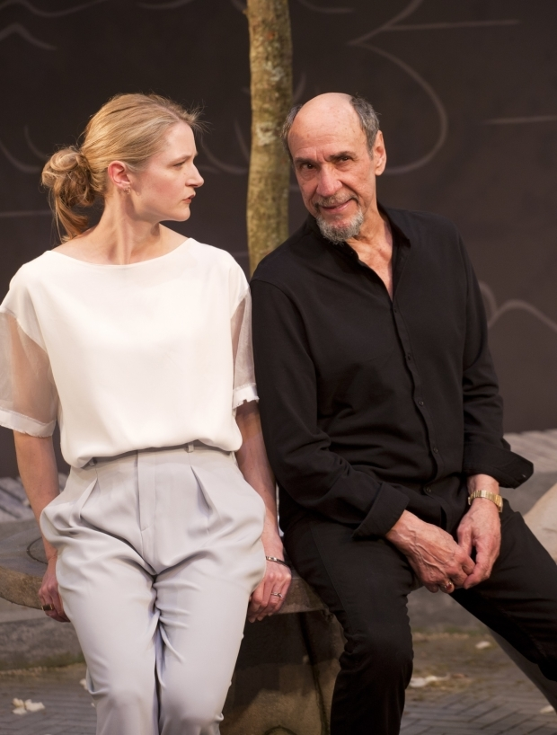 <p>Naomi Frederick and F Murray Abraham in <em>The Mentor</em></p><br />Copyright Simon Annand