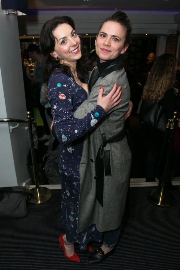<p>Naomi Sheldon (performer/author) and Hayley Atwell</p><br />© Dan Wooller for WhatsOnStage