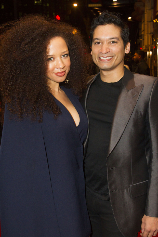 <p>Natalie Gumede and Raj Ghatak</p><br />© Dan Wooller for WhatsOnStage