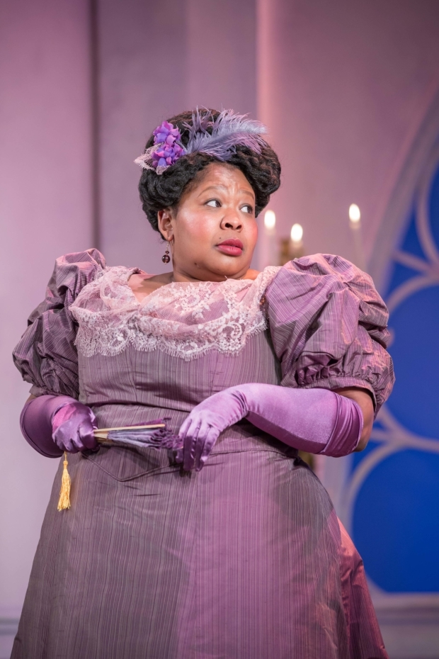 <p>Natasha Magigi in <em>Lady Windermere&#39&#x3B;s Fan</em></p><br />© Marc Brenner