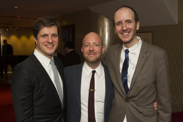 <p>Neil Austin, John Tiffany and Jack Thorne</p><br />© Dan Wooller for WhatsOnStage