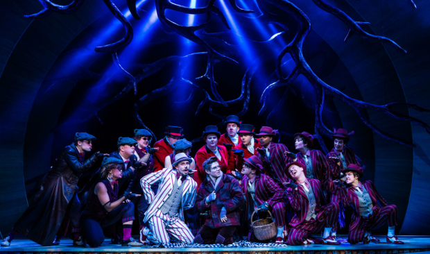<p>Neil McDermott (Chief Weasel), Craig Mather (Mole) and Company in <em>The Wind in the Willows</em></p><br />Darren Bell