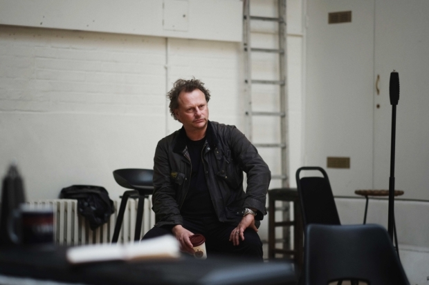 <p>Neil Stuke in rehearsals for <em>Mood Music</em></p><br />© Sarah Lee