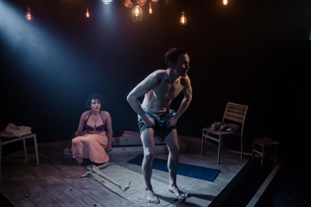<p>Niall Bishop and Tanya Fear  in <em>Tiny Dynamite</em> </p><br />©The Other Richard