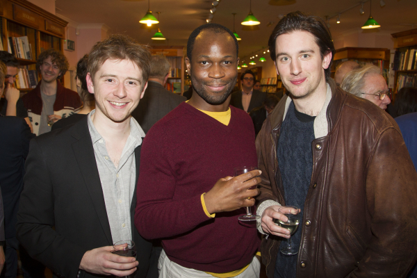 <p>Niall Ransome, Stefan Adegbola and Edward Sayer</p><br />© Dan Wooller for WhatsOnStage