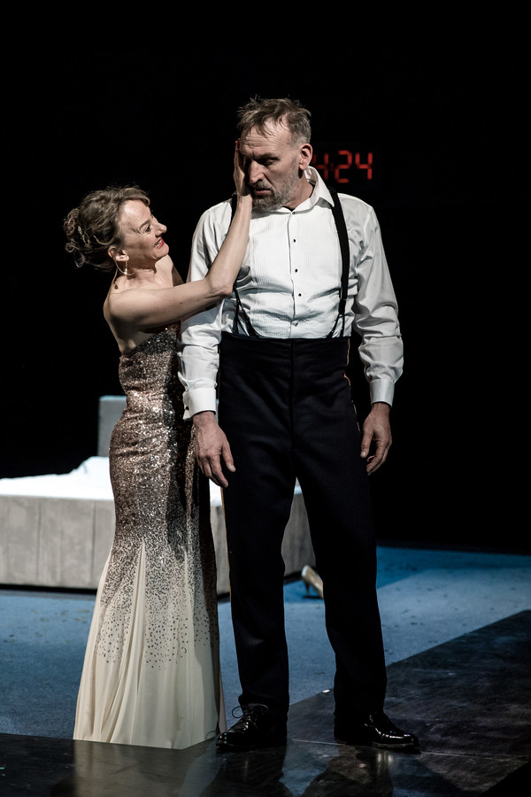 <p>Niamh Cusack and Christopher Eccleston</p><br />Richard Davenport, RSC