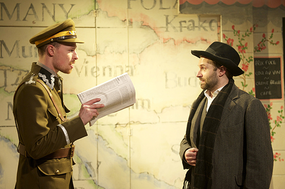 <p>Nic Kyle (The Colonel) and Alastair Brookshaw (Jacobowsky) </p><br />© Annabel Vere