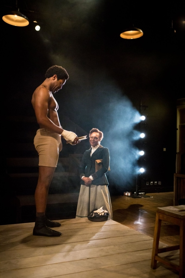 <p>Nicholas Pinnock and Franc Ashman</p><br />© Helen Murray