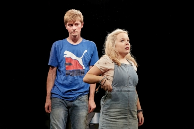 <p>Rhys Isaac-Jones (Joe) and Nicola Coughlan (Jess) in <em>Jess and Joe Forever</em></p><br />© The Other Richard