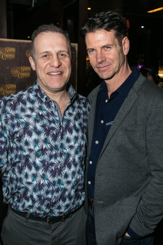 <p>Nigel Lindsay and Lloyd Owen</p><br />© Dan Wooller for WhatsOnStage