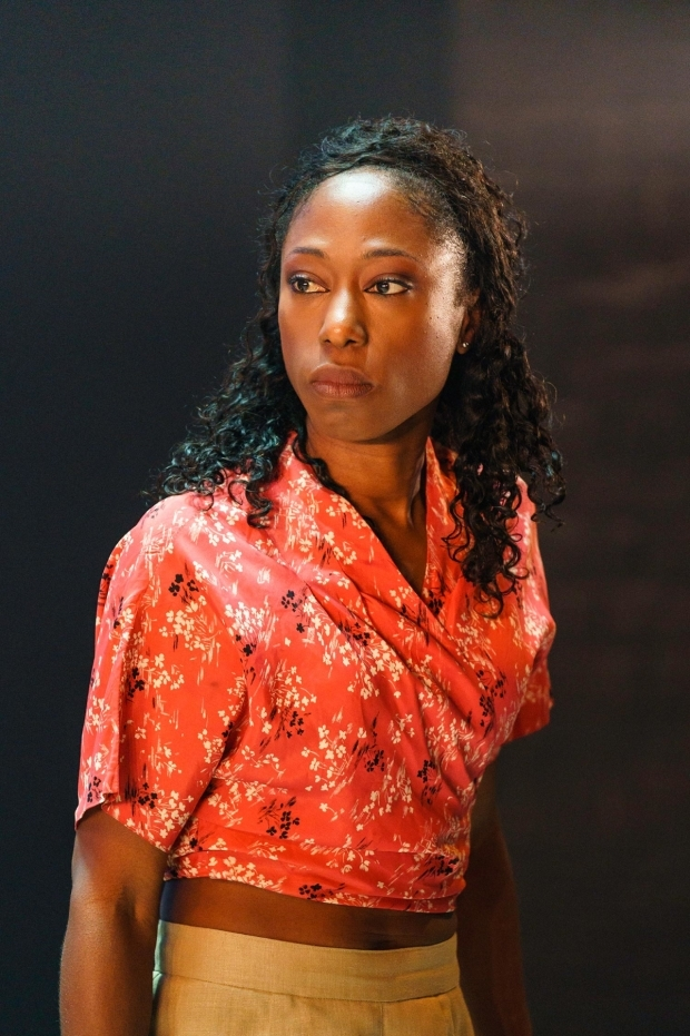 <p>Nikki Amuka-Bird (Ellida) in <em>The Lady from the Sea</em> </p><br />© Manuel Harlan