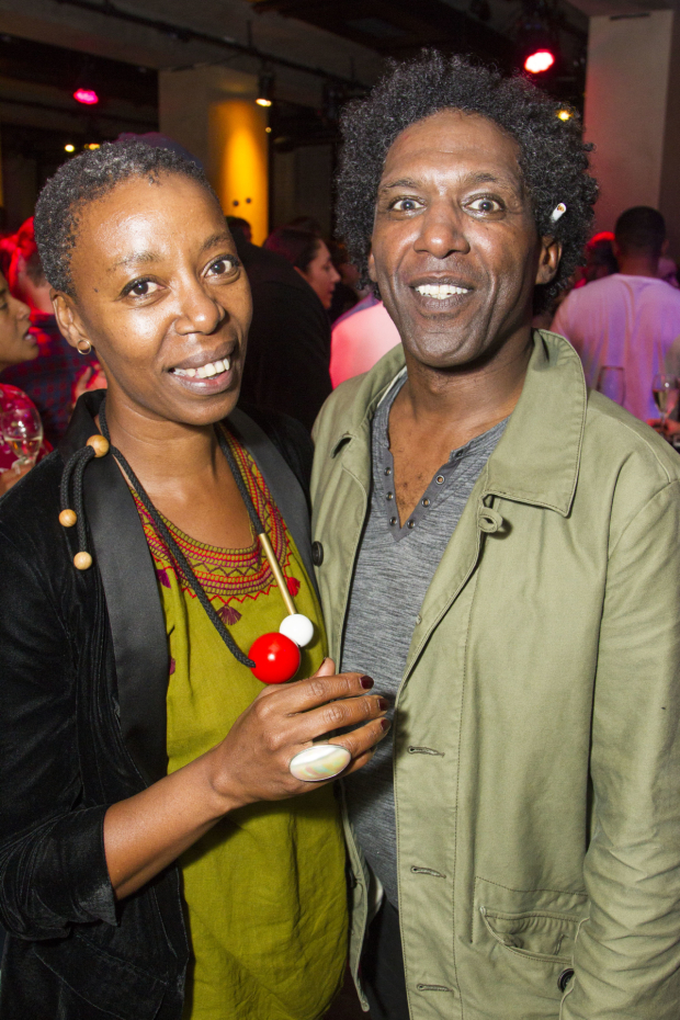 <p>Noma Dumezweni and Lemn Sissay (Scullery)</p><br />@ Dan Wooller for WhatsOnStage