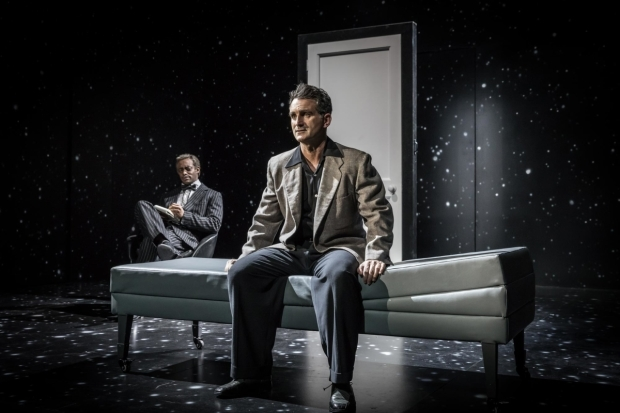 <p>Oliver Alvin-Wilson and John Marquez in <em>The Twilight Zone</em></p><br />©  Marc Brenner
