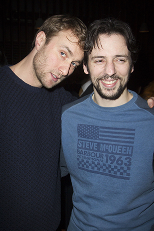 <p>Oliver Chris and Ralf Little</p><br />Dan Wooller for WhatsOnStage