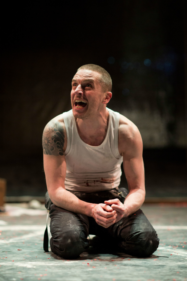 <p>Oliver Ryan in <em>Doctor Faustus</em></p><br />© Helen Maybanks/RSC