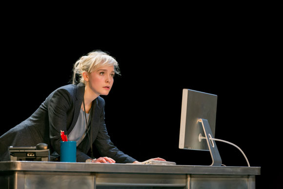 <p>Olivia Vinall as Hilary</p><br />© Johan Persson