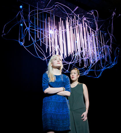 <p>Olivia Vinall as Hilary and Vera Chok as Bo</p><br />© Johan Persson