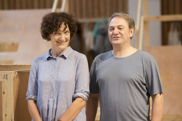 <p>Olwen May and Paul Cawley</p><br />© Johan Persson