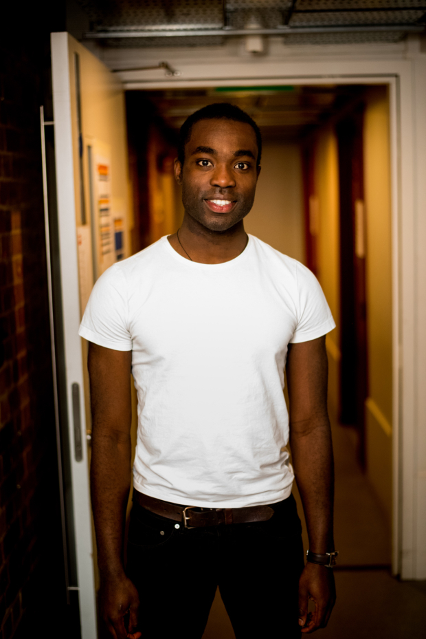 <p>Paapa Essiedu backstage at <em>Shakespeare Live! From the RSC</em></p><br />© David Tett