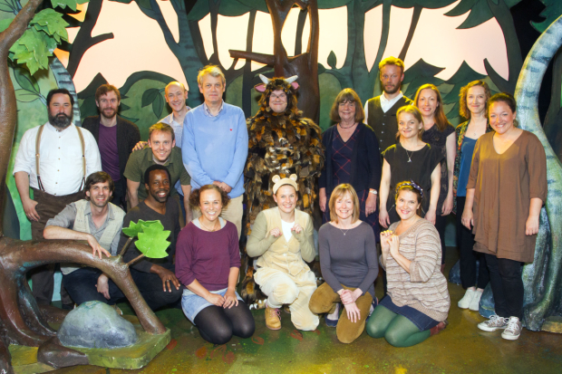 <p>Past and present cast members of <em>The Gruffalo</em></p><br />© �Dan Wooller
