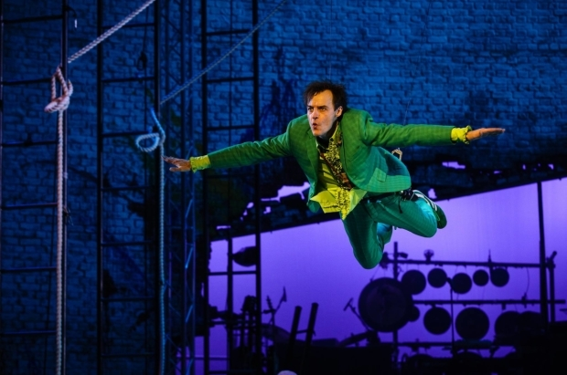 <p>Paul Hilton as Peter in <em>Peter Pan</em></p><br />© Steve Tanner