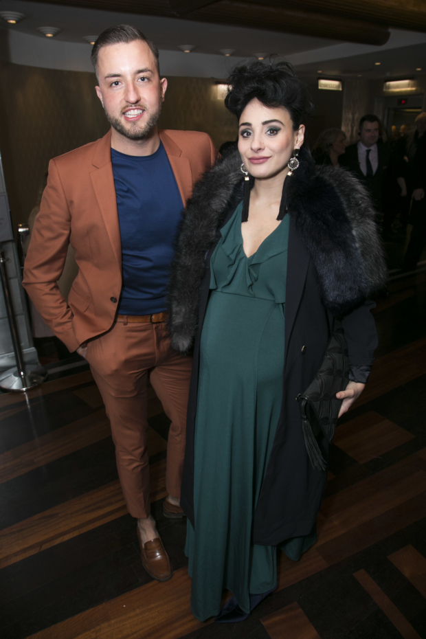 <p>Paul Taylor-Mills and Victoria Hamilton-Barritt</p><br />© Dan Wooller for WhatsOnStage