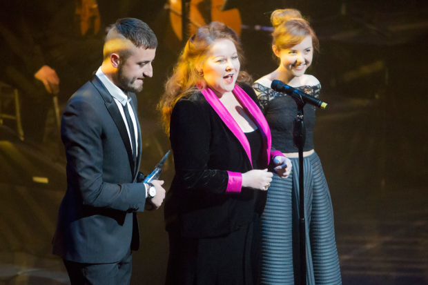 <p>Paul Taylor-Mills, Kim Criswell and Evelyn Hoskins</p><br />© Peter Gibbons