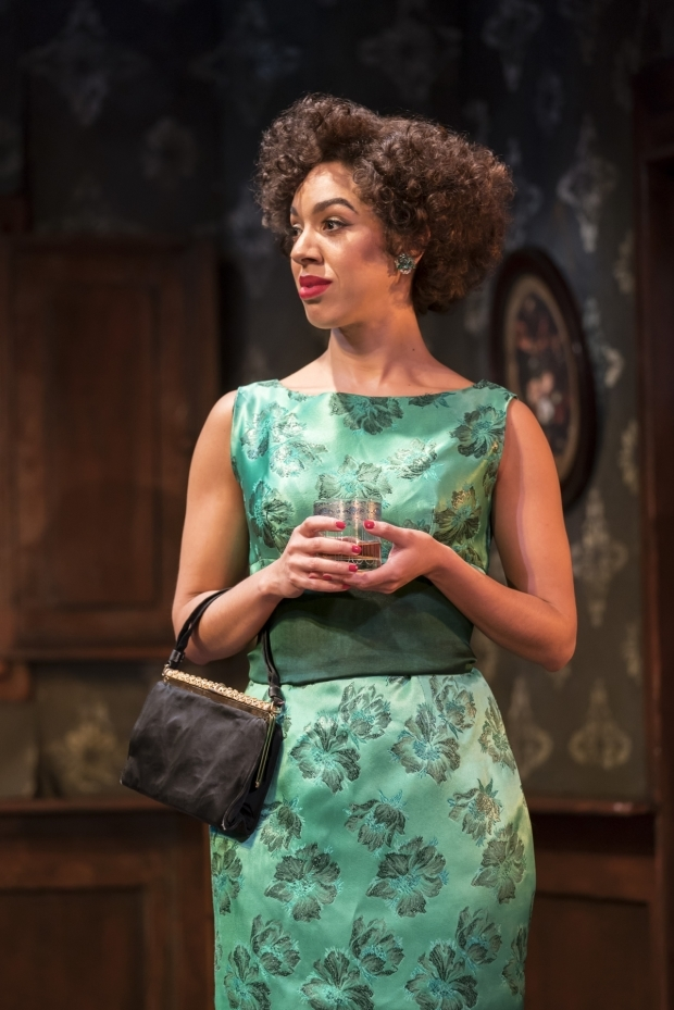 <p>Pearl Mackie in <em>The Birthday Party</em></p><br />© Johan Persson