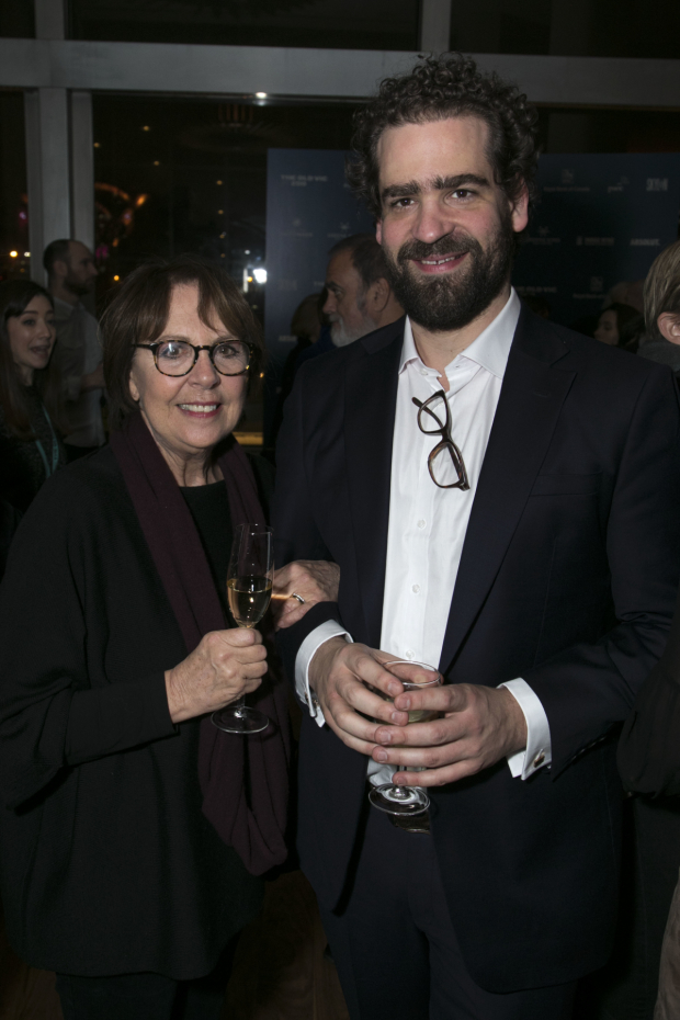 <p>Penelope Wilton (Helena Ekdahl) and Max Webster (director)</p><br />© Dan Wooller