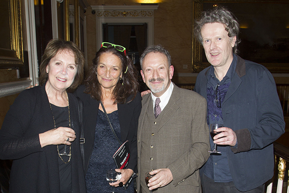 <p>Penelope Wilton (Irmgard), Patricia Litten, Allan Corduner (Franz Litten) and Mark Hayhurst (author)</p><br />Dan Wooller for WhatsOnStage