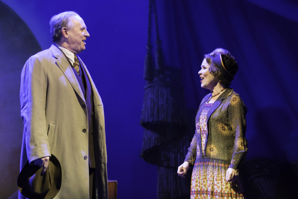 <p>Peter Davison as Herbie and Imelda Staunton as Momma Rose</p><br />© Johan Persson